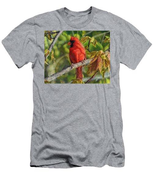 A Cardinal Named Carl Men's T-Shirt (Athletic Fit)