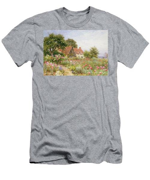 A Cottage Garden Men's T-Shirt (Athletic Fit)