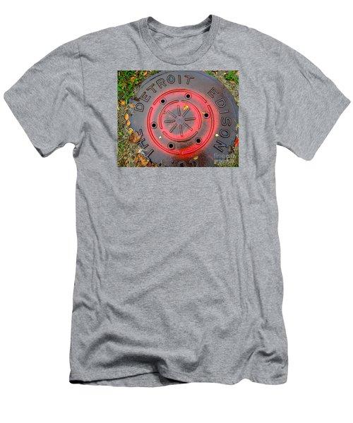 A Detroit Thing Men's T-Shirt (Slim Fit) by Sandra Church