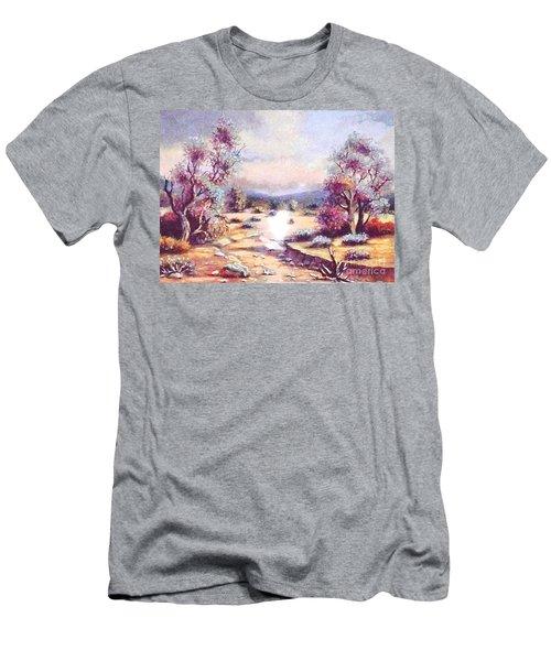 A Door Of Hope  Men's T-Shirt (Athletic Fit)