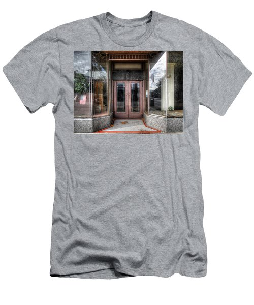 A Doorway In Port Jervis Men's T-Shirt (Athletic Fit)