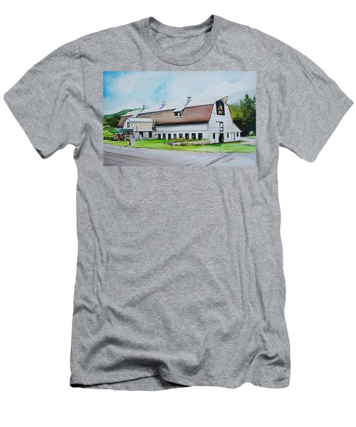 A Farmstand  In The Berkshires Men's T-Shirt (Athletic Fit)