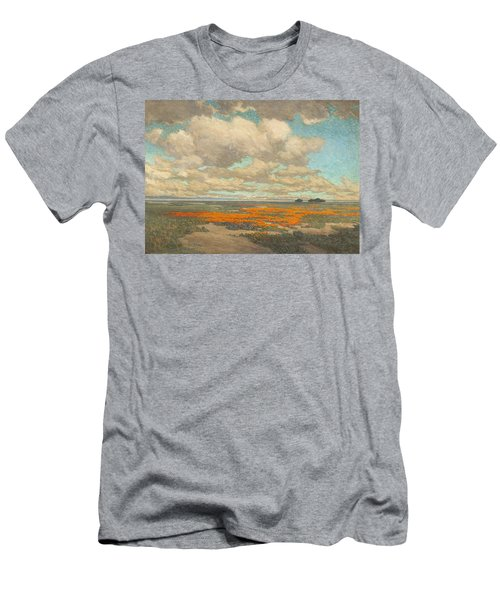 A Field Of California Poppies Men's T-Shirt (Athletic Fit)