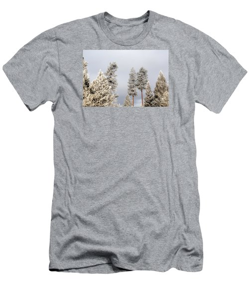 A Frosty Morning 2 Men's T-Shirt (Slim Fit) by Janie Johnson