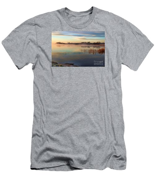 A Gentle Morning Men's T-Shirt (Slim Fit) by Diana Mary Sharpton