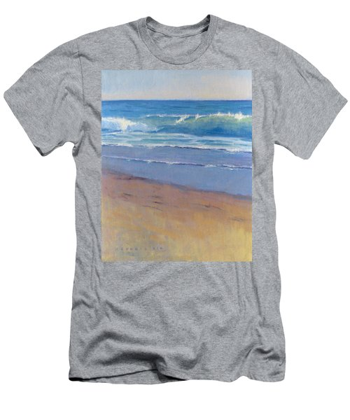 Gentle Wave / Crystal Cove Men's T-Shirt (Athletic Fit)