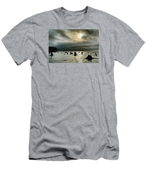 A Glimer Of Light Men's T-Shirt (Slim Fit) by Robert Charity