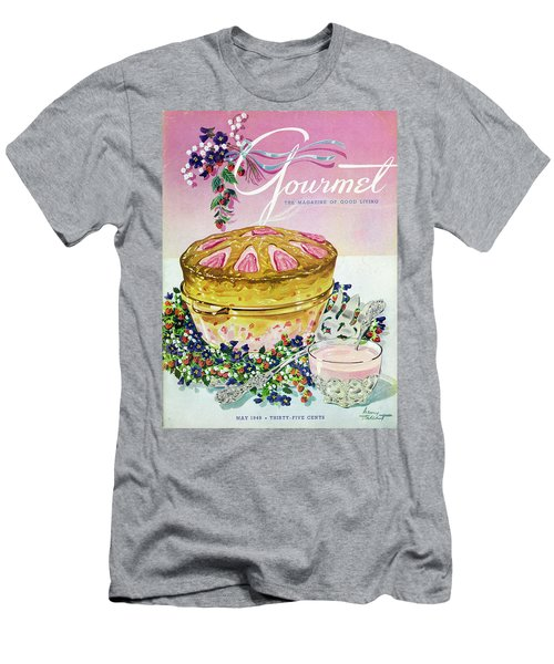 A Gourmet Cover Of A Souffle Men's T-Shirt (Athletic Fit)