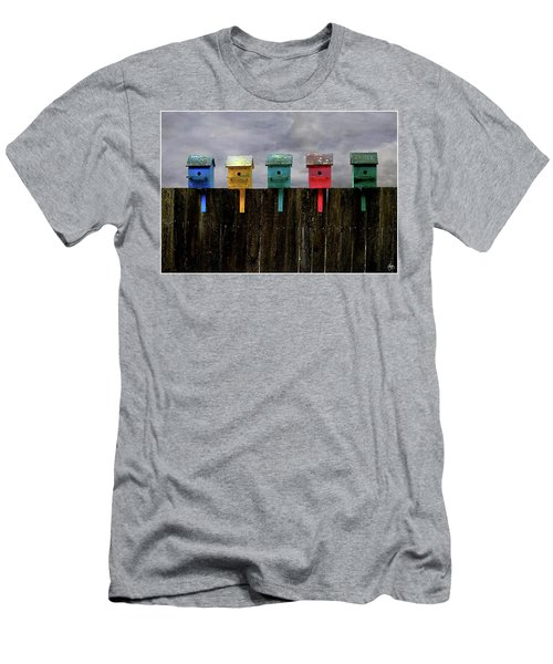 Men's T-Shirt (Athletic Fit) featuring the photograph A Great Day To Fly by Wayne King