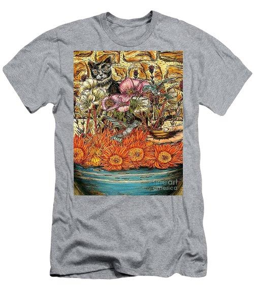 A Helping Hand...? Men's T-Shirt (Slim Fit) by Kim Jones