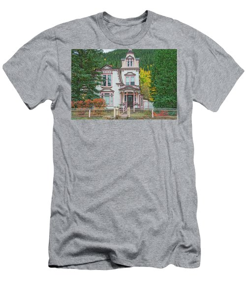 A Historical Treasure Constructed In 1870, Maxwell House, Georgetown, Colorado  Men's T-Shirt (Athletic Fit)