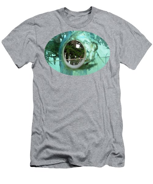 Men's T-Shirt (Slim Fit) featuring the photograph A Limited Point Of View by Ethna Gillespie