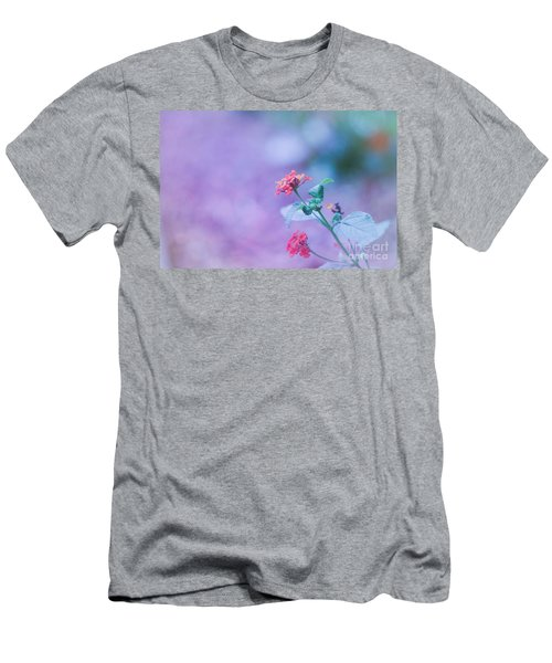 A Little Softness, A Little Color - Macro Flowers Men's T-Shirt (Athletic Fit)