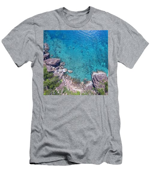 A Little Square Of Paradise  Men's T-Shirt (Athletic Fit)