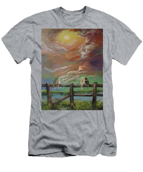 A Springtime Lovers Moon Men's T-Shirt (Athletic Fit)