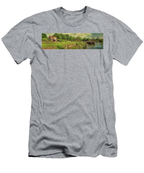 A Morning At Teddington Lock Men's T-Shirt (Athletic Fit)