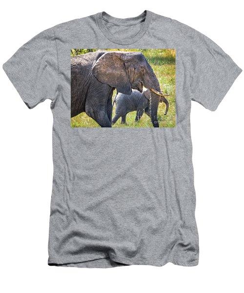 A Mother's Love Men's T-Shirt (Athletic Fit)