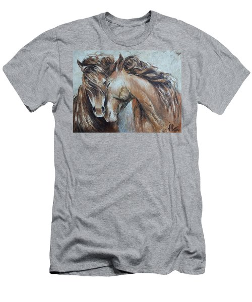 A Painting About Love  Men's T-Shirt (Athletic Fit)
