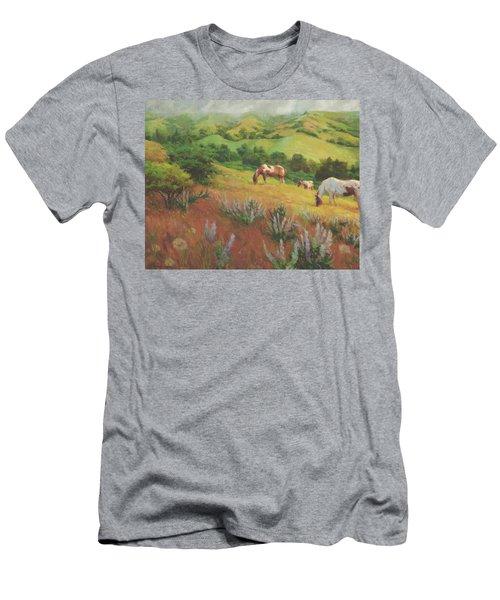 A Peaceful Nibble Men's T-Shirt (Athletic Fit)