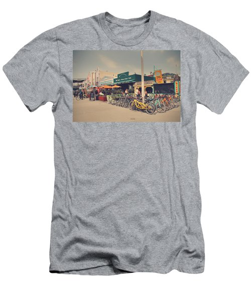 A Perfect Day For A Ride Men's T-Shirt (Slim Fit) by Laurie Search