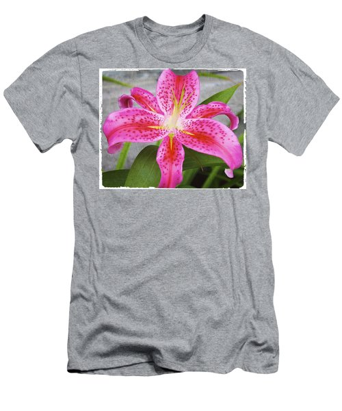 A Pink So Vivid I Can Almost Taste It Men's T-Shirt (Athletic Fit)