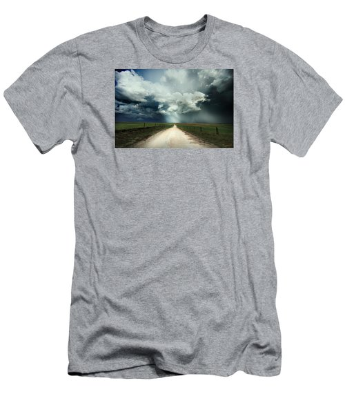 God's Light Men's T-Shirt (Athletic Fit)