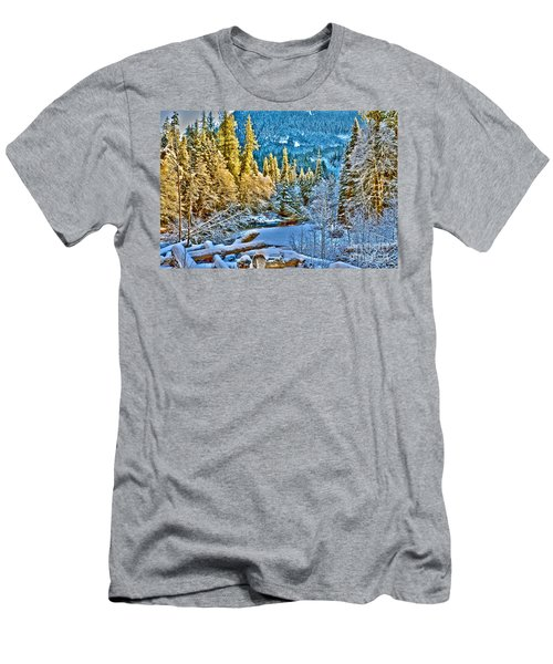 A River Runs Down It Men's T-Shirt (Athletic Fit)