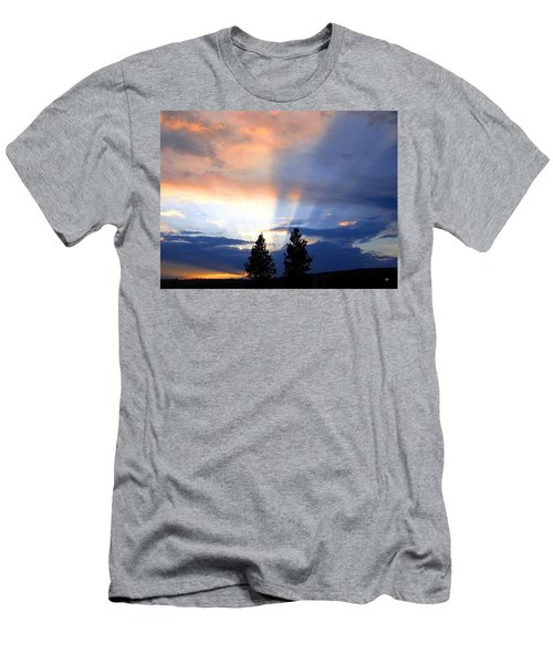 A Riveting Sky Men's T-Shirt (Athletic Fit)
