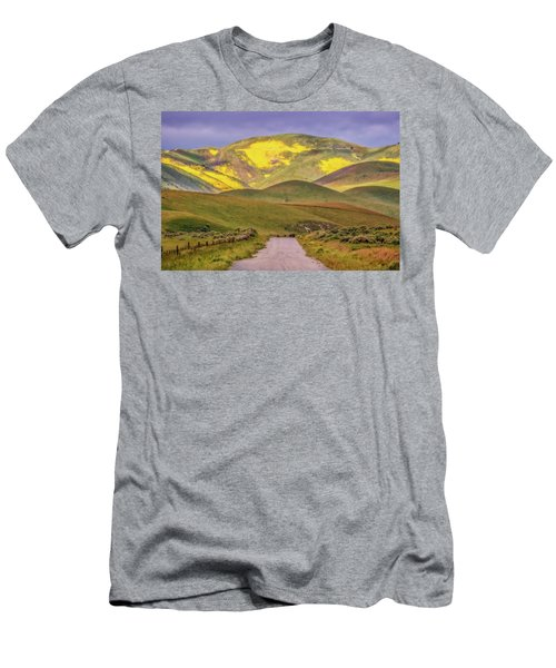 Men's T-Shirt (Slim Fit) featuring the photograph A Road Less Traveled by Marc Crumpler