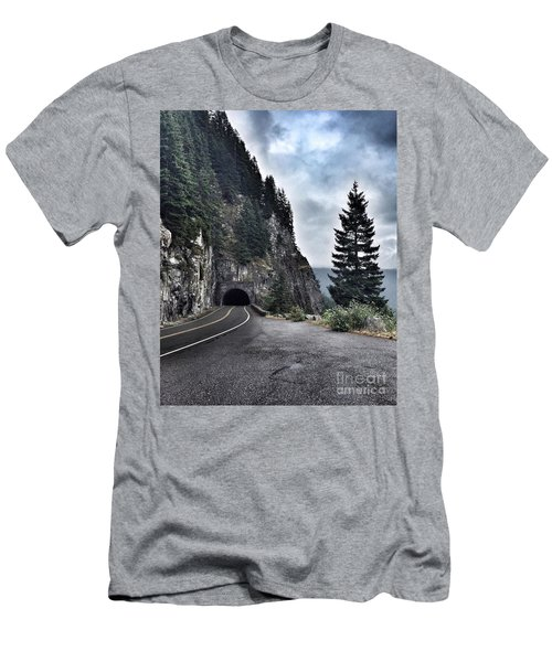 A Road To Nowhere Men's T-Shirt (Athletic Fit)