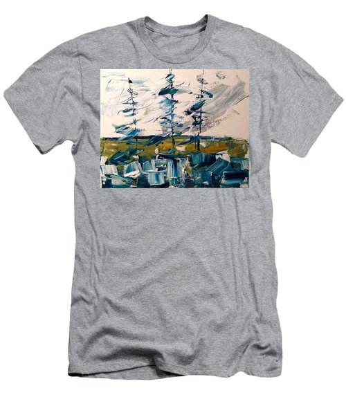 A Scrape Of Pines Men's T-Shirt (Athletic Fit)