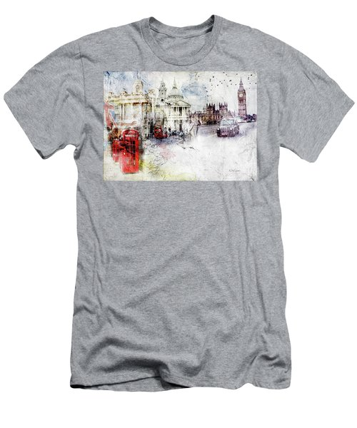 A Sense Of Time Men's T-Shirt (Slim Fit) by Nicky Jameson