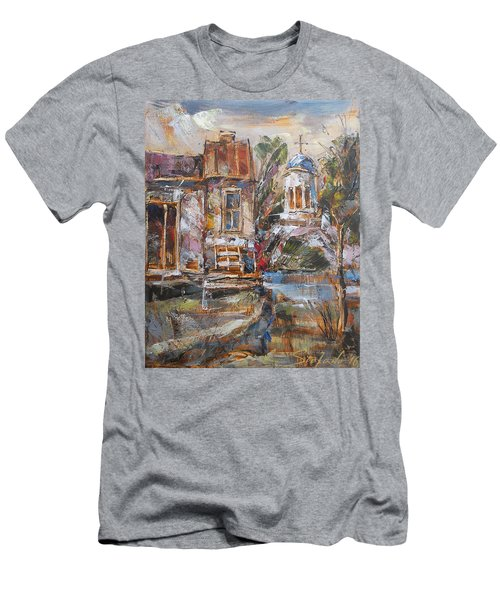 A Silent Afternoon Men's T-Shirt (Athletic Fit)