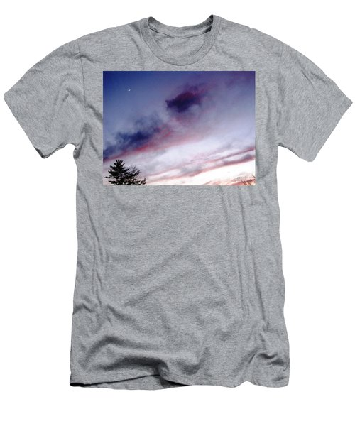 A Sliver Of Moon Men's T-Shirt (Slim Fit) by Melissa Stoudt