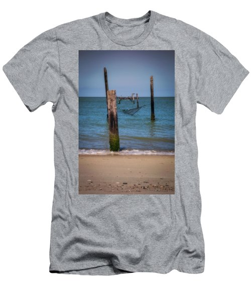A Study Of Threes Men's T-Shirt (Slim Fit) by David Cote