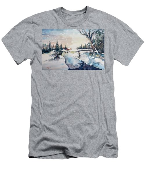 A Taste Of Winter Men's T-Shirt (Athletic Fit)
