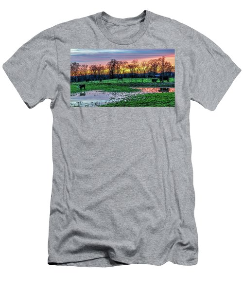 A Time For Reflection Men's T-Shirt (Slim Fit) by Jeffrey Friedkin