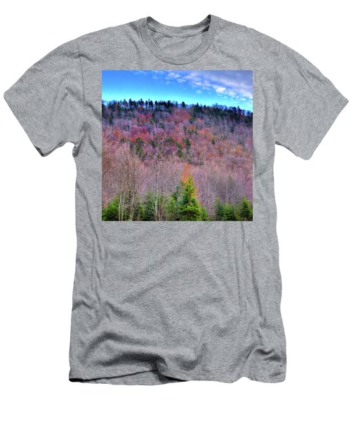 Men's T-Shirt (Slim Fit) featuring the photograph A Touch Of Autumn by David Patterson
