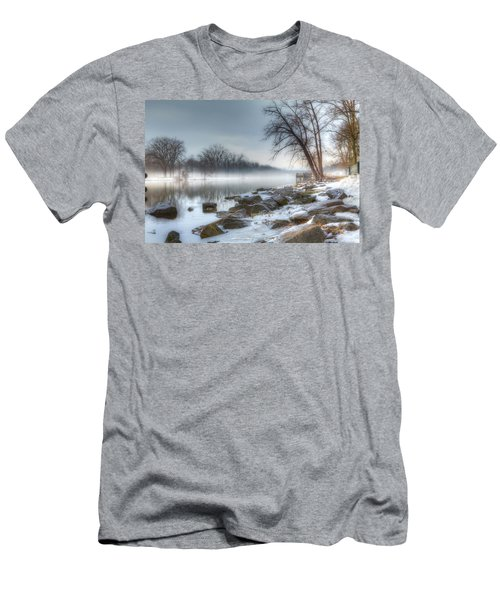 A Tranquil Evening Men's T-Shirt (Slim Fit) by Everet Regal