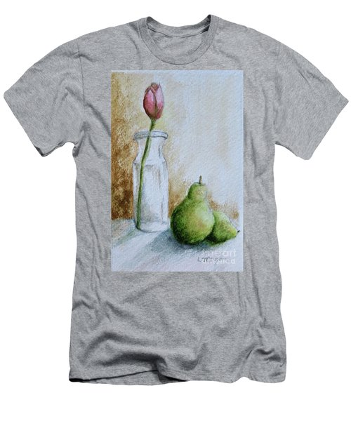 A Tulip And Two Pears Men's T-Shirt (Athletic Fit)
