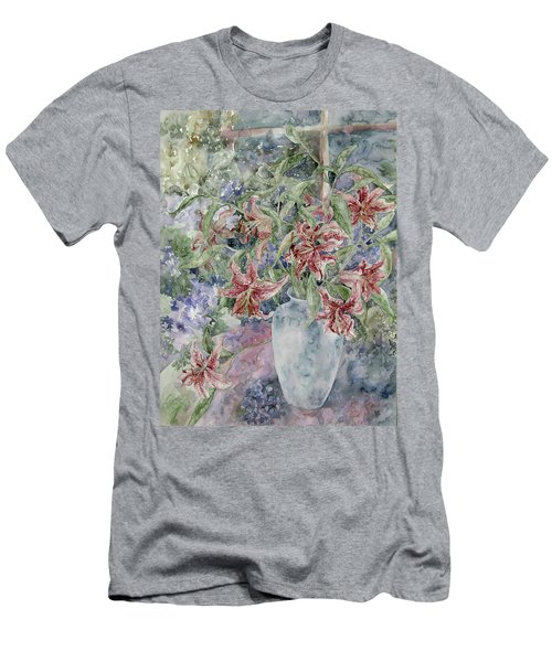 A Vase Of Lilies Men's T-Shirt (Athletic Fit)