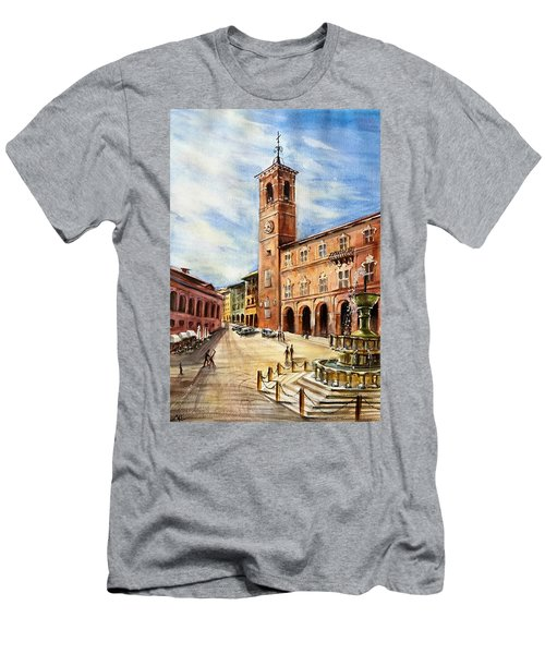A View From Fabriano Men's T-Shirt (Athletic Fit)