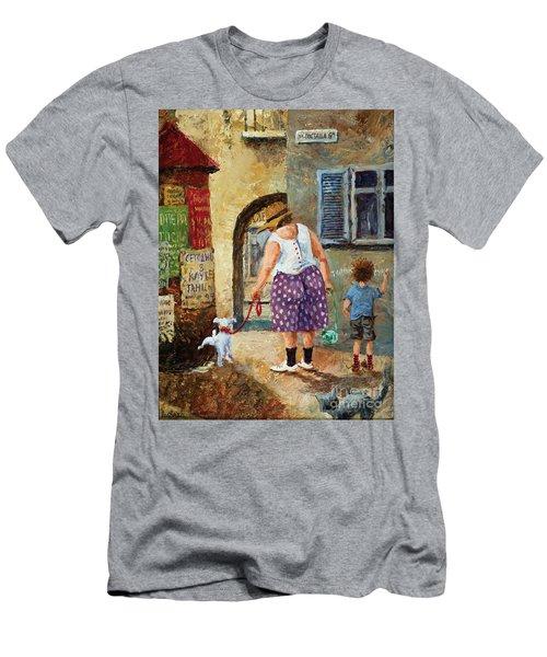 A Walk Down Memory Line Men's T-Shirt (Athletic Fit)