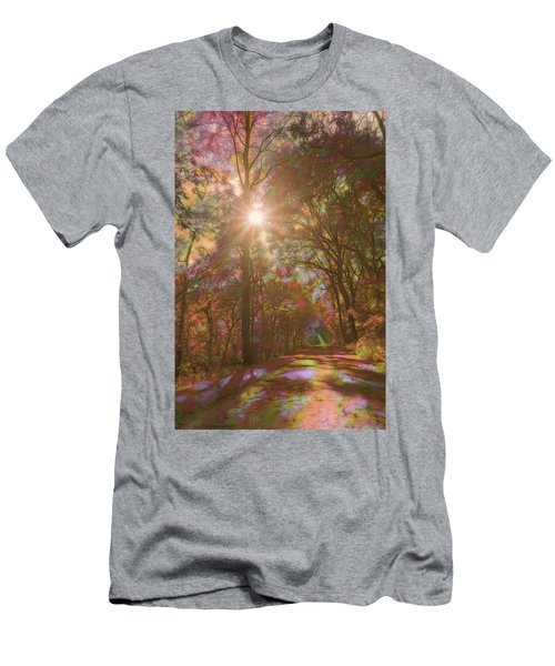 A Walk Through The Rainbow Forest Men's T-Shirt (Athletic Fit)