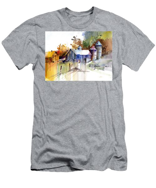 A Walk To The Barn Men's T-Shirt (Athletic Fit)