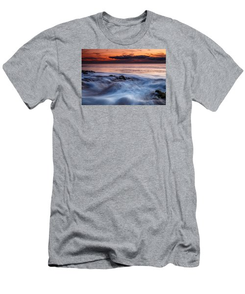 A Wave At Sunset Men's T-Shirt (Athletic Fit)
