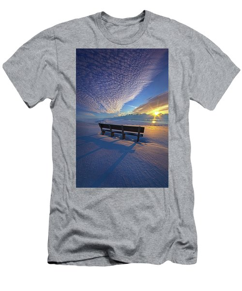 A Whole World In Front Of Us Men's T-Shirt (Athletic Fit)