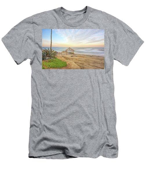 A Windansea Morning Men's T-Shirt (Slim Fit) by Joseph S Giacalone