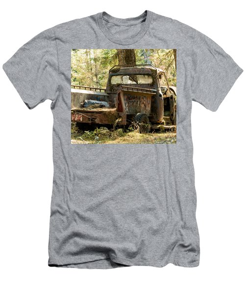 Men's T-Shirt (Slim Fit) featuring the photograph Abandoned And Abused by E Faithe Lester