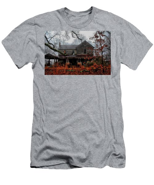 Abandoned Autumn Men's T-Shirt (Athletic Fit)